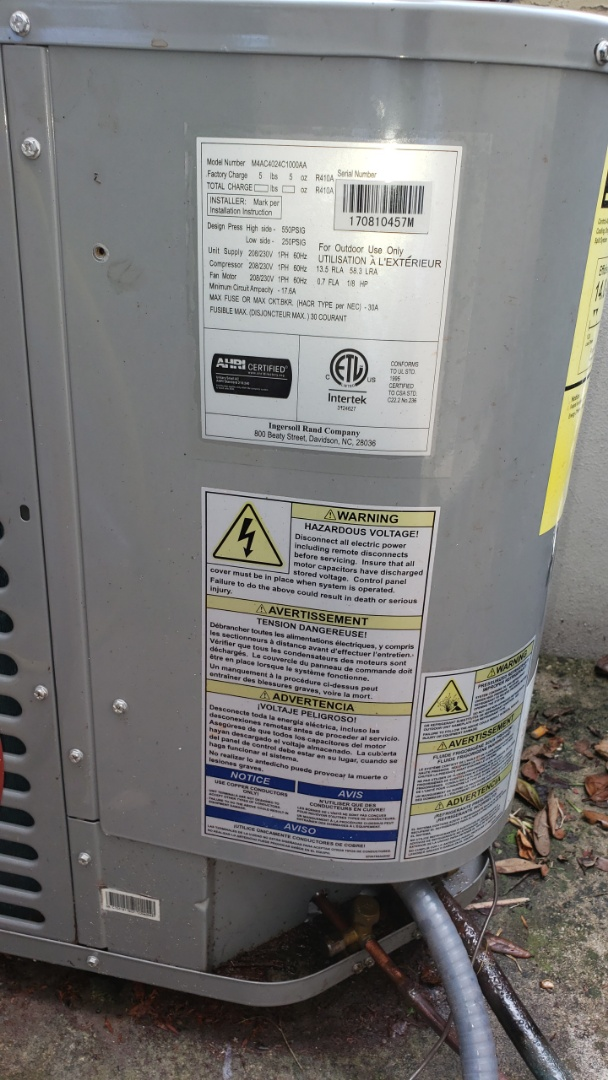 Coral Springs, FL - A/c bad compressor