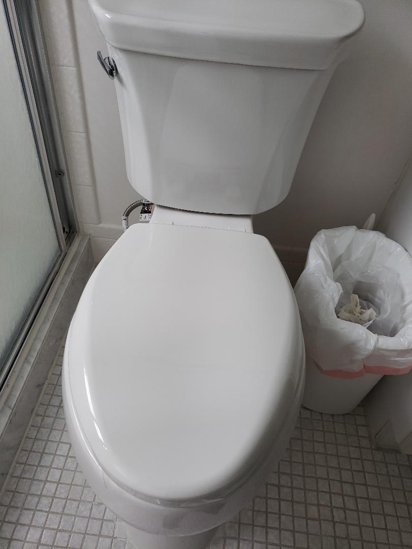 Coconut Creek, FL - Guest bath toilet installation