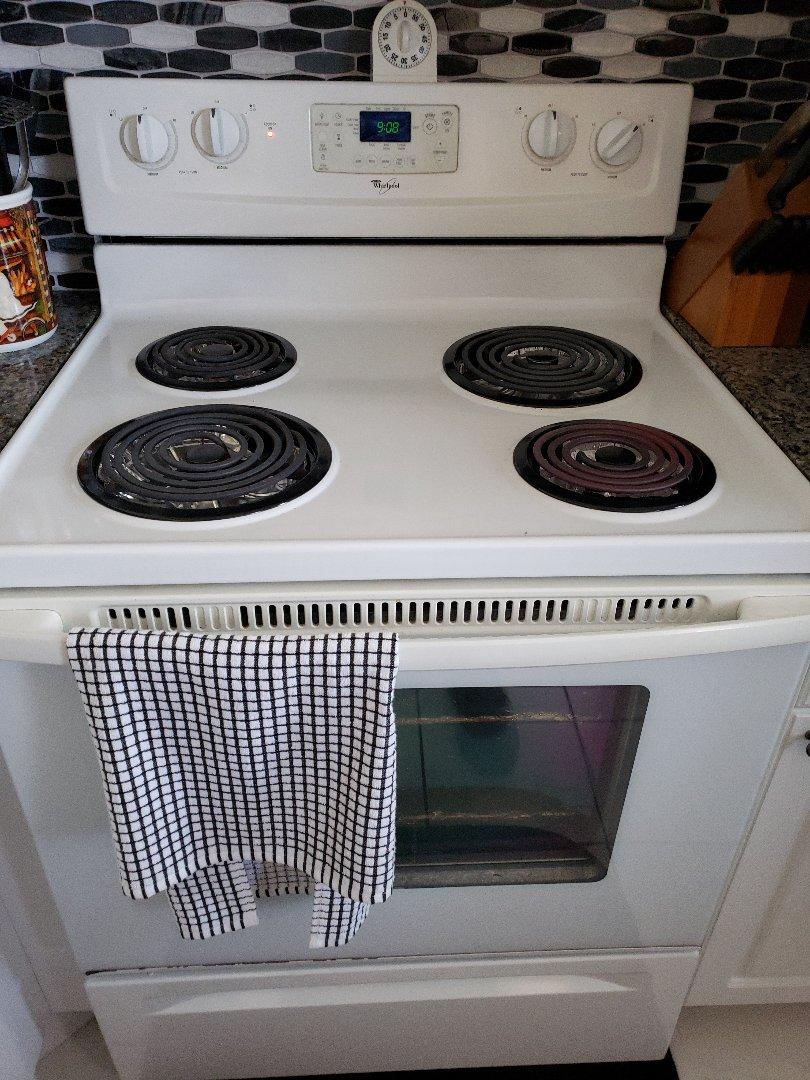 Oven burner not working