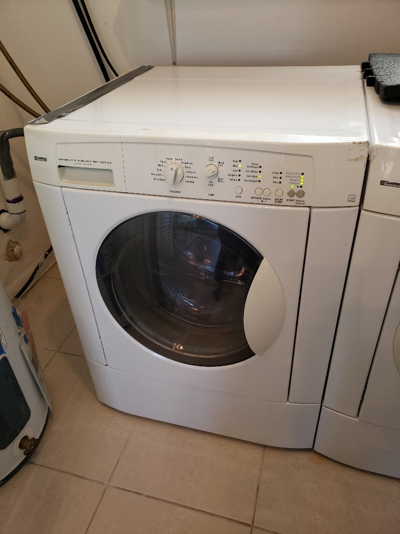 Kenmore front load washer not spinning