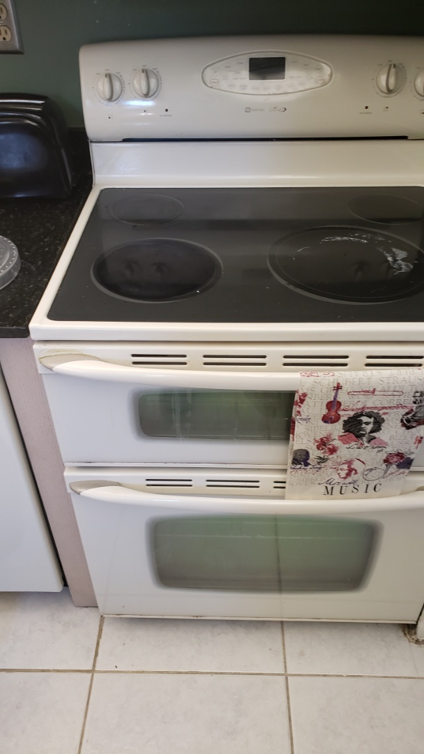 GLASS TOP OVEN REPAIRED.