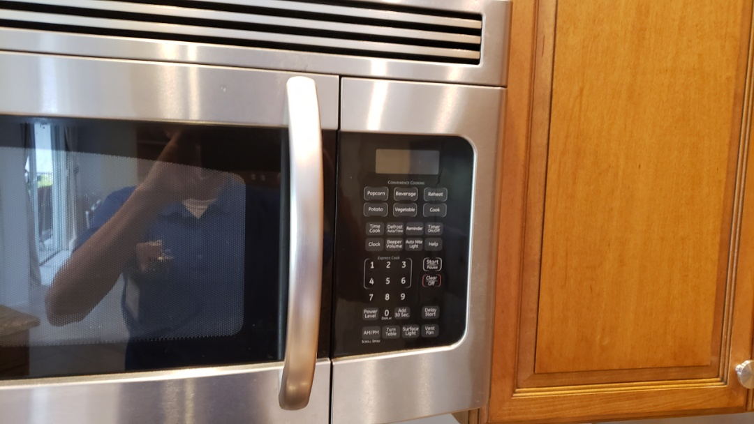 GE MICROWAVE REPAIRED