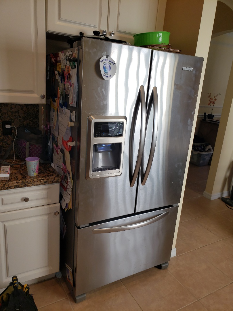 Royal Palm Beach, FL - THE TECHNICIAN IS REPAIRING A KITCHENAID ICEMAKER.