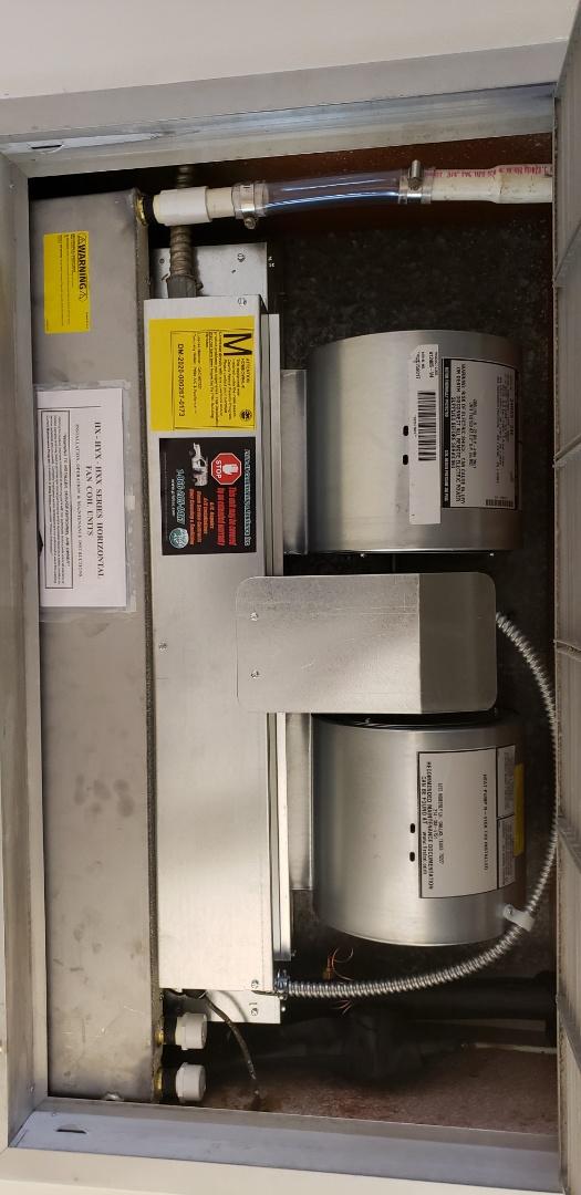 Boca Raton, FL - Install 2 tons rheem split system pancake