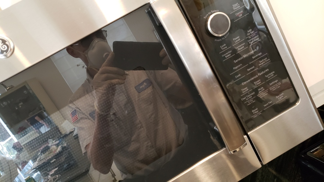 WHIRLPOOL OVEN MICROWAVE BUILT IN REPAIRED