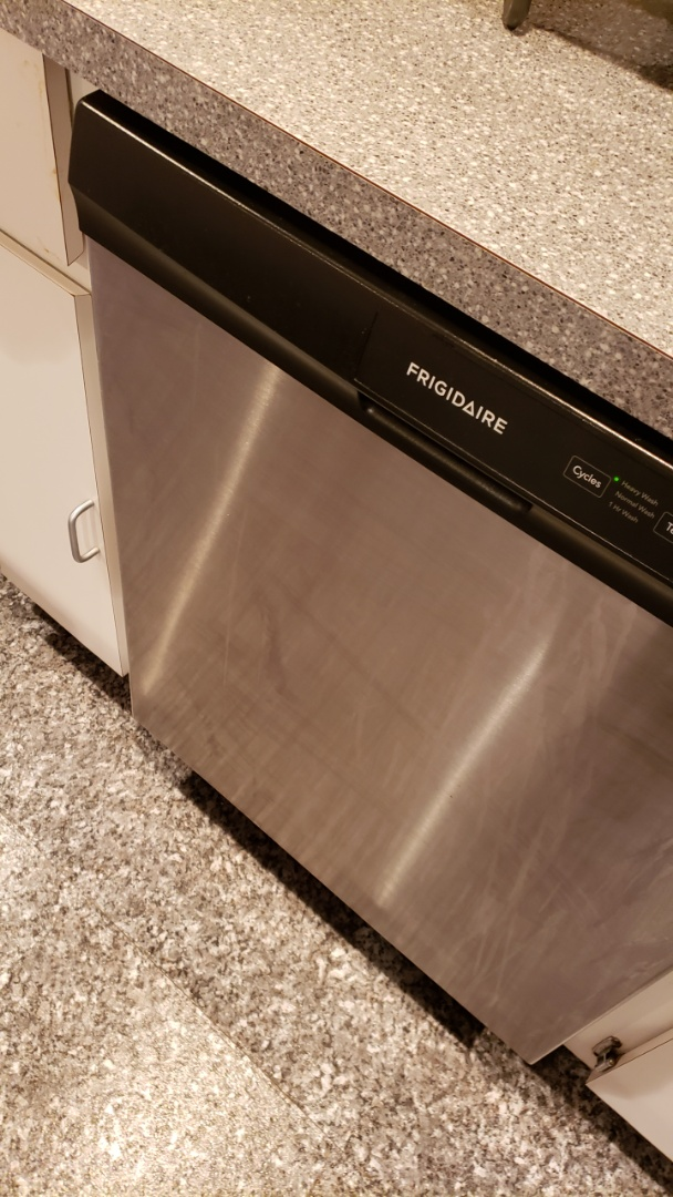 FRIGIDAIRE DISHWASHER REPAIRED