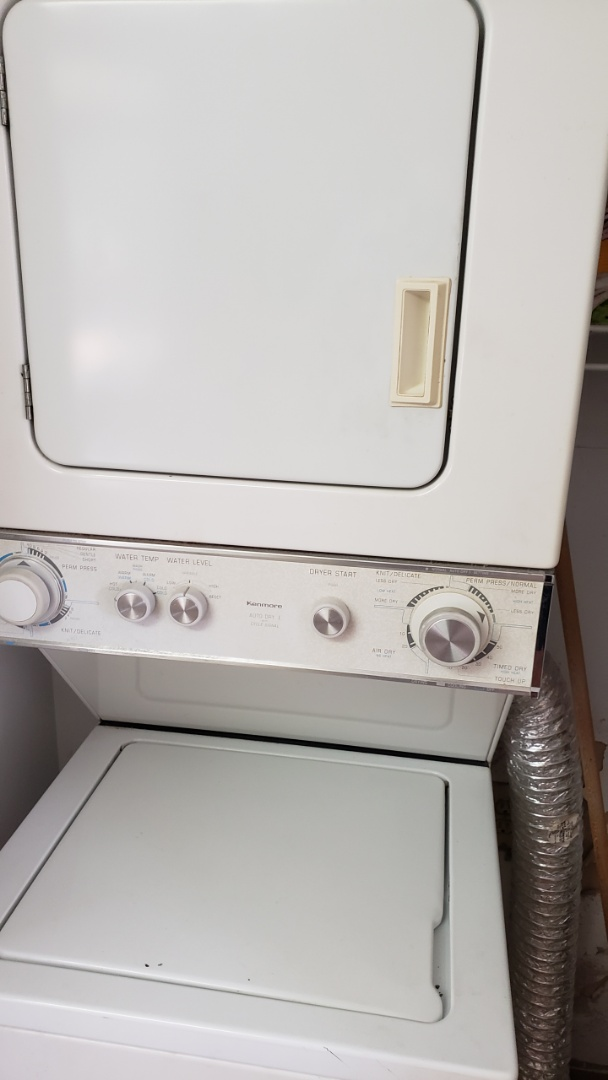KENMORE DRYER STACK REPAIRED