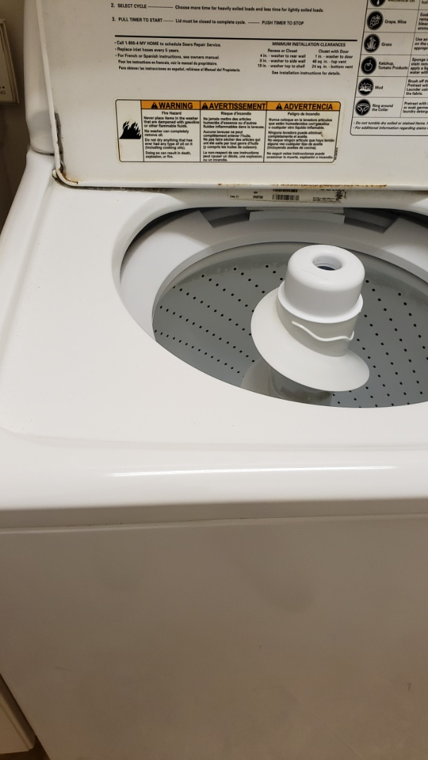 Delray Beach, FL - KENMORE WASHER  REPAIRED