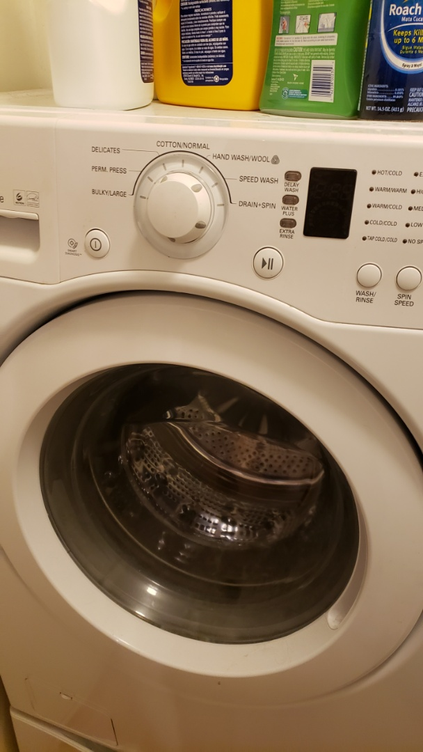 LG FRONT LOAD WASHER REPAIRED