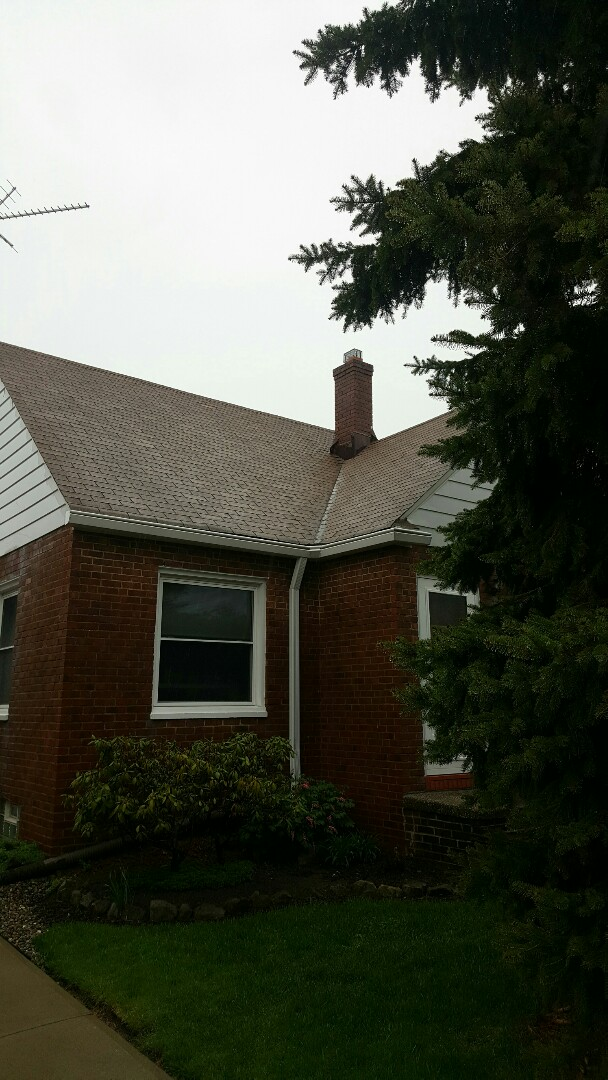 Brooklyn, OH - Metal roof is in the schedule