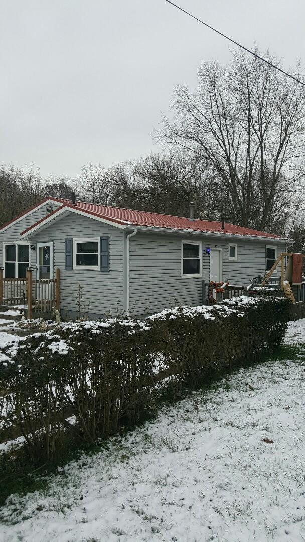 Barberton, OH - new metal roof