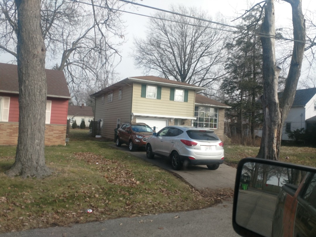Burton, OH - Pulling measurements for new shingle roof