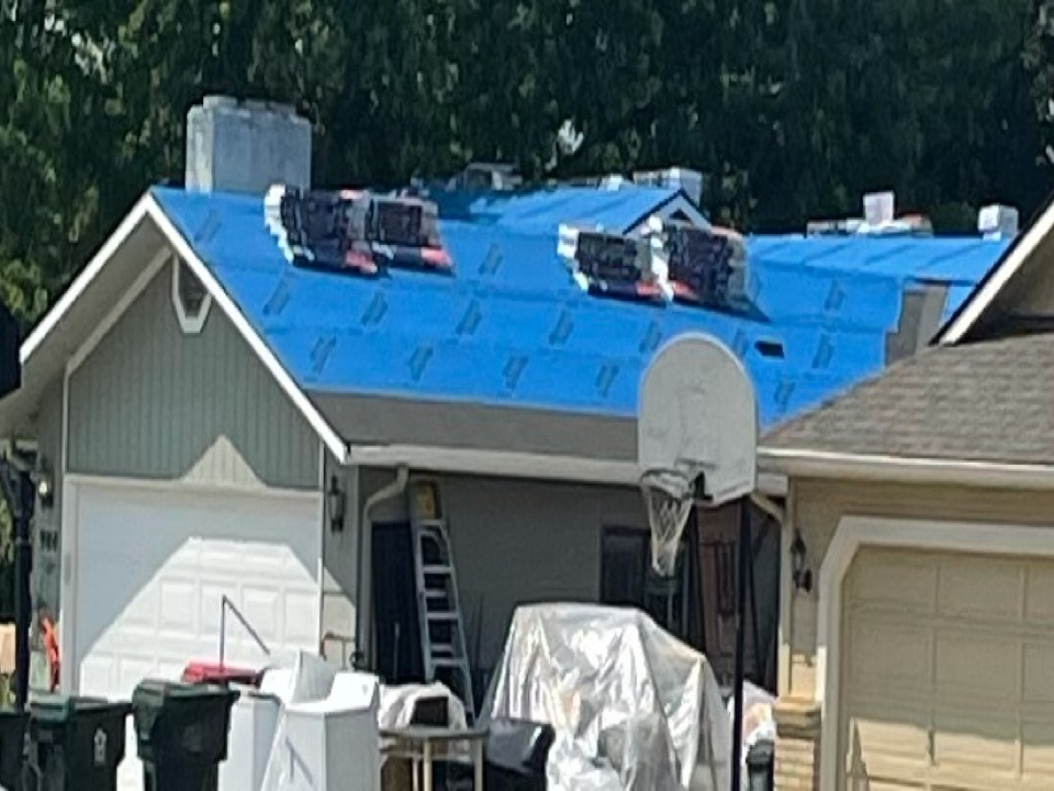 Meridian, ID - Reroofing a residential home in gem park subdivision. Pd for by home owners insurance
