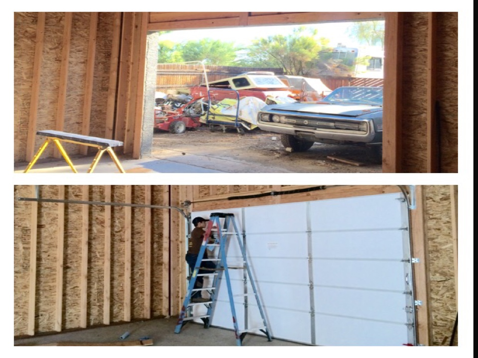 Waddell, AZ - Customer needed a garage door installation done ASAP. We were able to get door from our manufacturer late in the afternoon and took care of customer this morning.