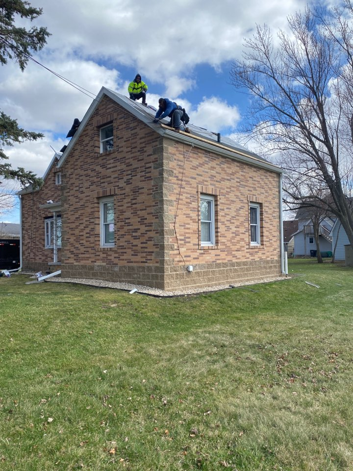 Arlington, WI - First re-roof of the year!