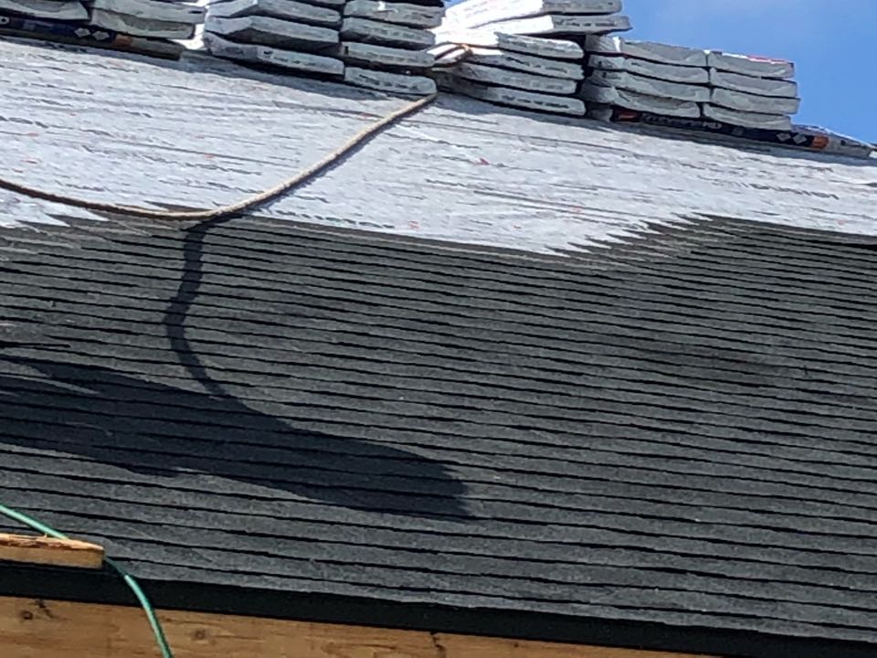 Marshall, WI - GAF Timberline HDZ in Charcoal going on this new con today. Golden Pledge Warranty!