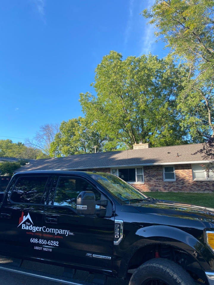 Madison, WI - Finished new roof replacement!  GAF Timberline HDZ shingles!  Golden pledge warranty!