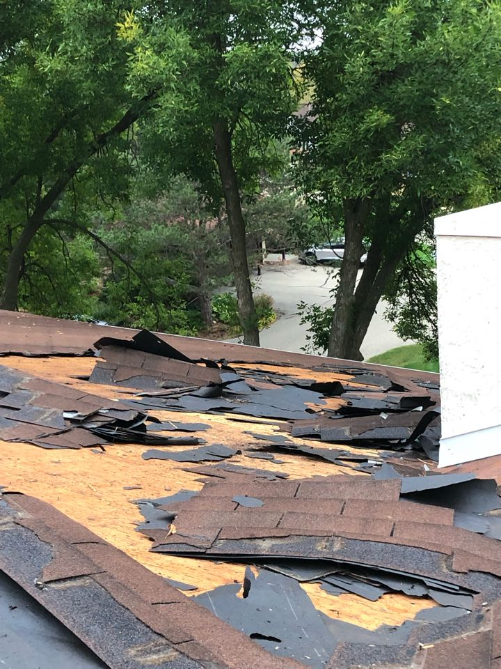 Madison, WI - Cooler temps are great for roof replacements!