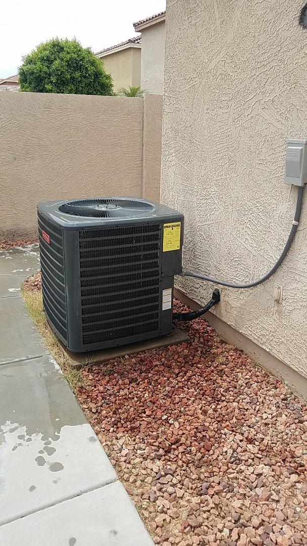 Surprise, AZ - Installed new Goodman house split system! System is running great and has outstanding warranties!