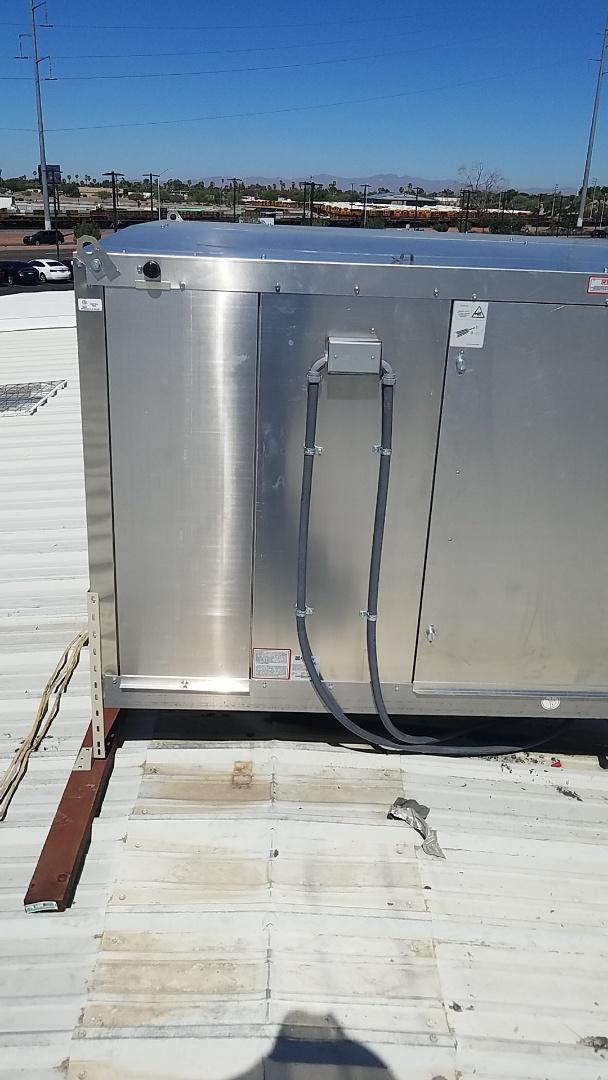 Glendale, AZ - Installing two new UMP cooler for a car dealership in Glendale