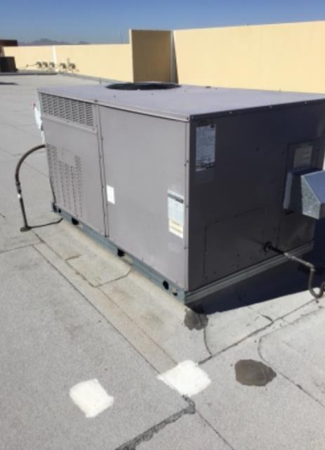 Peoria, AZ - Performing a seven unit service for a distribution company in the city Of Peoria.