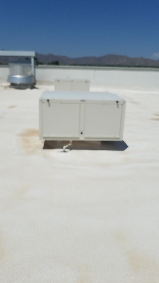 Surprise, AZ - Installing new commercial evap cooler  in surprise
