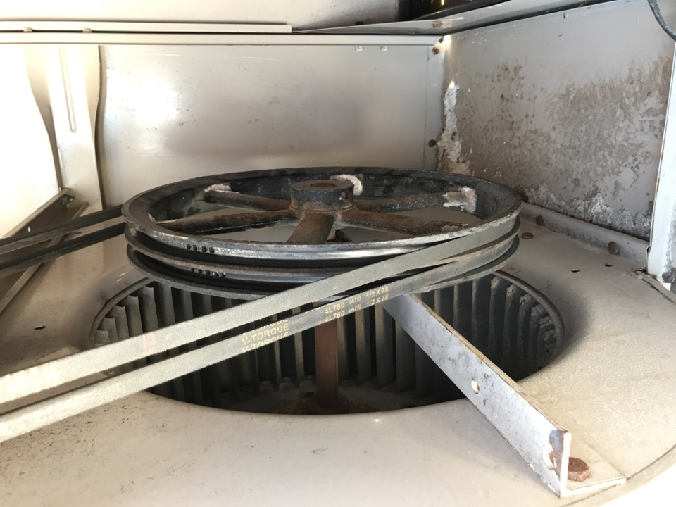 Surprise, AZ - In Surprise, working on a cooler that the bearings are going out. Need to ordered new bearings for the cooler
