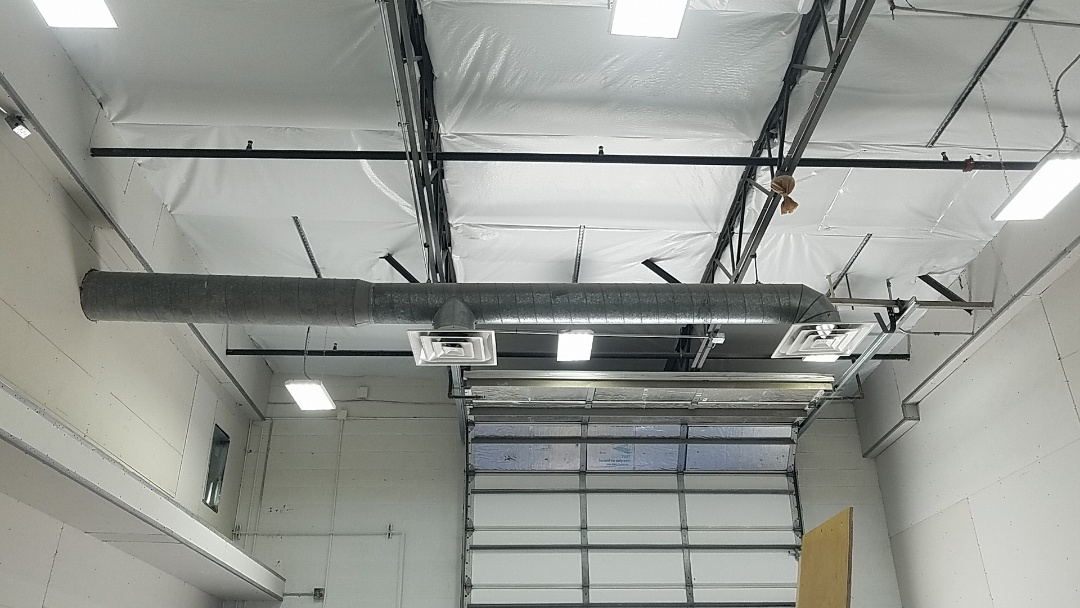 Surprise, AZ - Custom duct job for a commercial building.