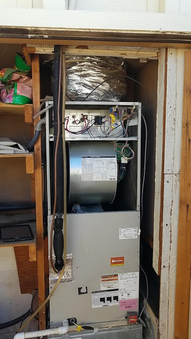 Sun City, AZ - Installing a new Amana  4 ton in Sun city