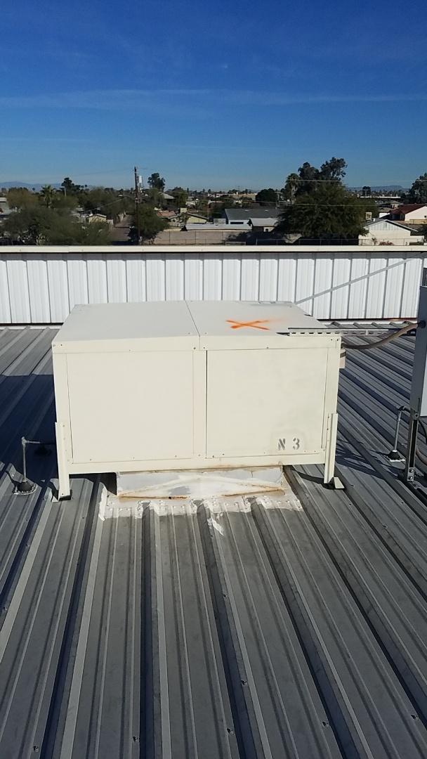 Glendale, AZ - Servicing evap coolers in Glendale Arizona