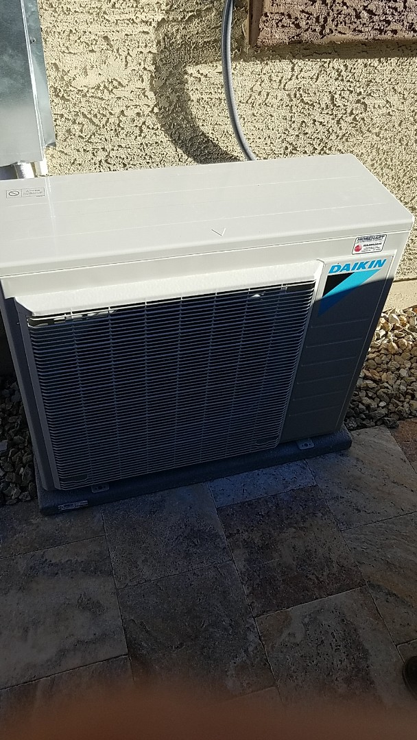 Goodyear, AZ - Installed new mini split system in Goodyear AZ