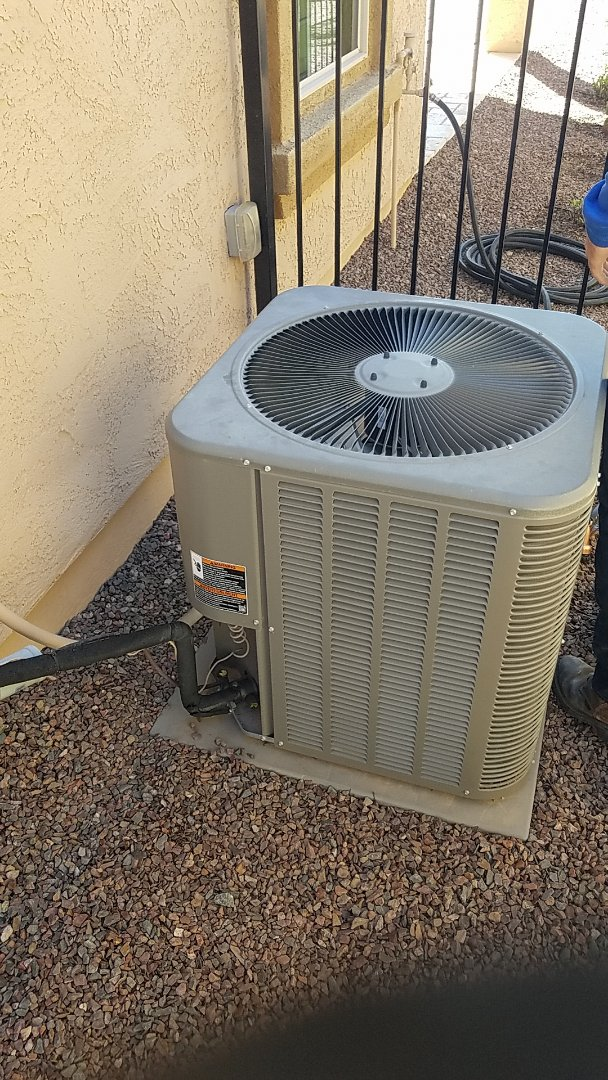 Buckeye, AZ - Installing new gas split in Buckeye Sun City Festival, AZ