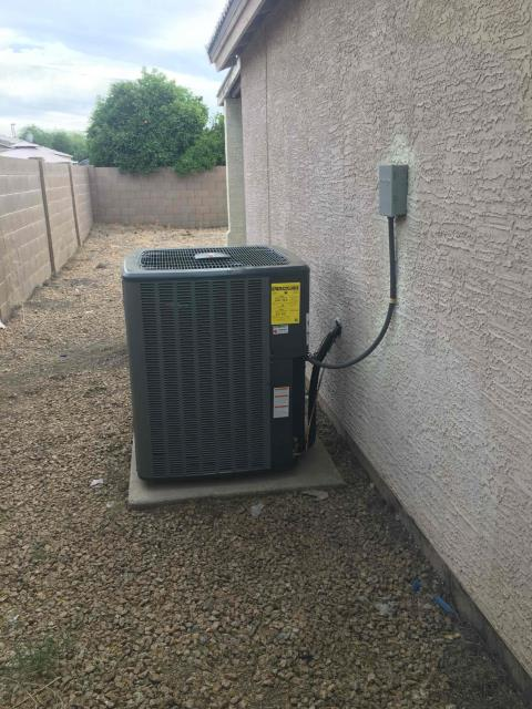 Glendale, AZ - In Glendale, AZ:  UPON ARRIVAL CYCLED UNIT INTO HEATING AND COOLING . TOOK TEMPERATURE READINGS FROM SUPPLY AND RETURN. PLEASE REFER TO CHECKLIST FOR FURTHER DETAILS AND INFORMATION. UPON DEPARTURE UNIT WORKING PROPERLY AND WITHIN SPEC.