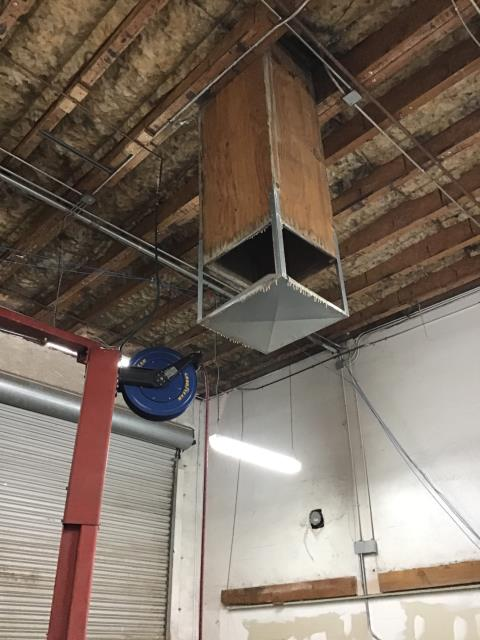 Mesa, AZ - In Mesa, AZ:  Unit 1- bearing in motor has failed. Pump and and basket need to be replaced. Unit 2- pump and basket need to be replaced. Mineral build up for age of system is heavy. Pads need to be replaced. Unit 3- motor is failing. Pump does not  work. Float is sticking. Unit 4- needs pump and basket Unit 5- needs pump and basket. New pads needed there is heavy build up. Float will not fully shut off. Unit 6- needs pump and basket. New pads needed there is heavy build up.  Ducting for coolers one and two is not far enough down in shop. Listed pricing to extend them four feet down with a triangle. Scissor lift rental priced into bid.  There is no drains hooked up to any of the evaporative cooler. Would recommend plumbing into original drains or connecting all to run into roof drains. Completed services for six systems at a local commercial building. Coolers are need of parts before they are functioning properly. Pending approvals.