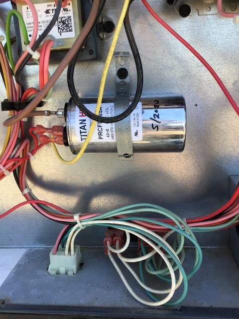 Tempe, AZ - In Tempe, AZ: Completed service in accordance with maintenance checklist. Please refer to list for photos and ratings. Let Taylor know we can order filters in bulk if needed, but we don't carry 16x30 as normal stock. Warrantied cap on 2 ton.