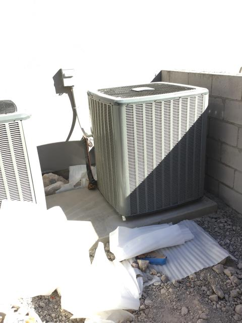 Cave Creek, AZ - In Cave Creek, AZ:  Completed service in accordance with maintenance checklist. Please refer to list for photos and ratings. Customer thought ducting was being installed today. Scheduled for Monday 7-9 arrival.
