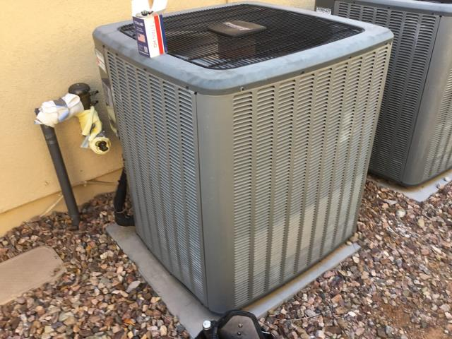In Anthem, AZ:  ON ARRIVAL FOUND CAPACITOR BAD RATED AT 70/5/440 ACTUAL 74.0/0.0/440 INSTALLED NEW 70/5/440 RUN CAPACITOR UNDER AMANA PARTS WARRANTY ONLY CHARGED FOR LABOR TO WARRANTY CAPACITOR. CYCLED SYSTEM BACK ON ALL WORKING PROPER. ALL COMPLETE.