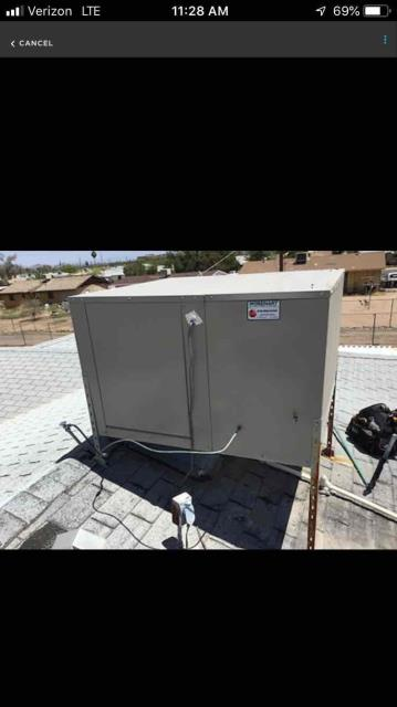 Phoenix, AZ - In Phoenix, AZ:  UPON ARRIVAL CYCLED UNIT INTO COOLING MODE. NOTICED WATER LINE LOOSE AND SPRAYING WATER OFF ROOF . PERFORMED TUNE UP ON EVAP COOLER . PLEASE REFER TO CHECKLIST FOR FURTHER DETAILS AND INFORMATION. UPON DEPARTURE UNIT WORKING PROPERLY AND WITHIN MANUFACTURER SPECIFICATIONS.