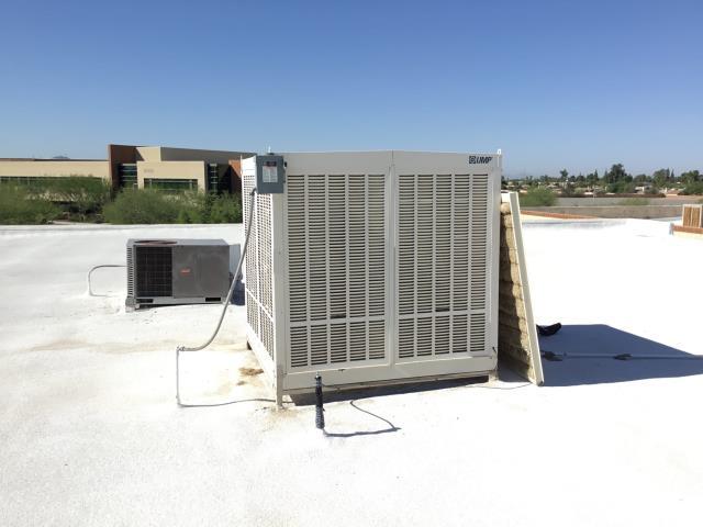 Phoenix, AZ - In Phoenix, AZ:  FOUND 115 VOLT PUMP ON THE COOLER LOCKED UP REPLACED PUMP ALL WORKING PROPERLY.
