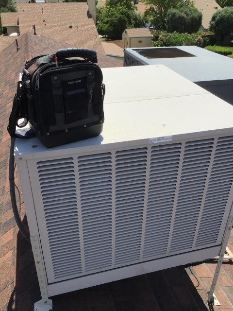Glendale, AZ - In Glendale, AZ:  Completed service in accordance with maintenance checklist.
