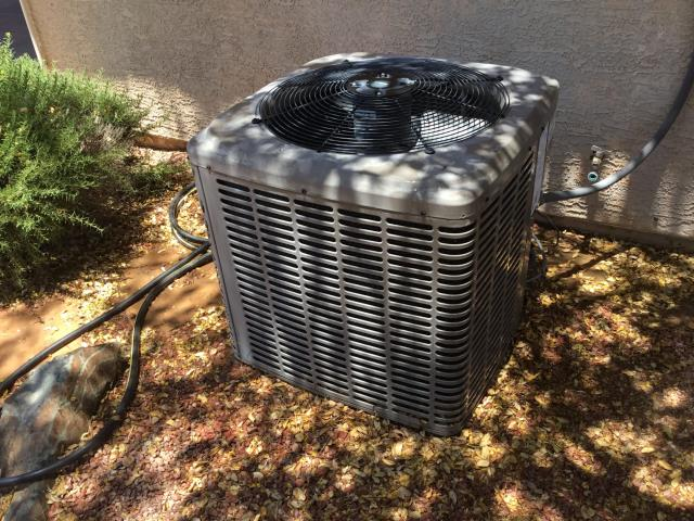 Goodyear, AZ - In Goodyear, AZ:  Cycled system on in cooling. Checked volt and amp draws, all in factory specs. Cleaned and tightened electrical connections. Checked Freon levels and pressures, also in factory specs. Acid washed outdoor coil and rinsed. Changed return air filter and checked splits, return 84 supply 66. System is running properly at this time.