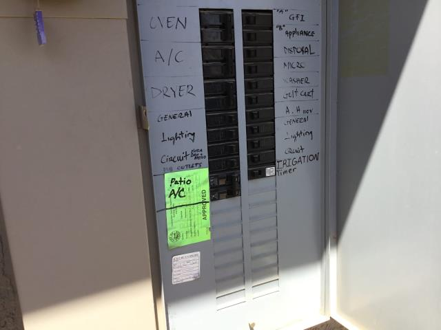 Peoria, AZ - In Peoria, AZ:  Checked volt and amp draws all in factory specification. Checked Freon; system working very well. System is working proper. Next visit, placement of ISO pads under condenser. Gave pricing for mini split in the bedroom.