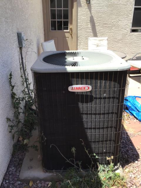Peoria, AZ - In Peoria, AZ:  Free estimate for new system; pending green sky approval.