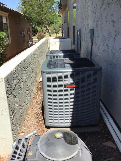 Buckeye, AZ - In Buckeye, AZ:  Completed Spring preventative maintenance service in accordance with maintenance checklist.