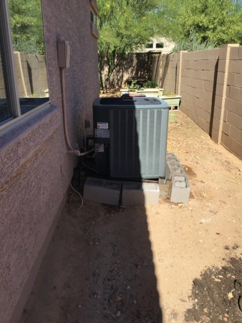 Surprise, AZ - In Surprise, AZ:  Completed Spring maintenance service in accordance with maintenance checklist.