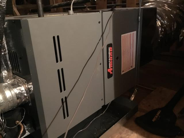 Peoria, AZ - In Peoria, AZ:  Cycled system on into cooling mode. Checked volt and amp draws; all in factory specification. Cleaned and tightened electrical connections. Checked Freon levels and pressures. Also within manufacturer specification. Acid washed outdoor coil and rinsed. Changed return air filters and checked splits: Return 76, Supply 56. System is running properly at this time.