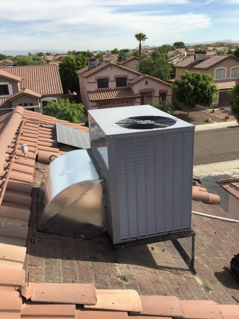 Peoria, AZ - In Peoria, AZ:  Completed quality inspection on new install; system working properly and within manufacturer specifications upon departure.