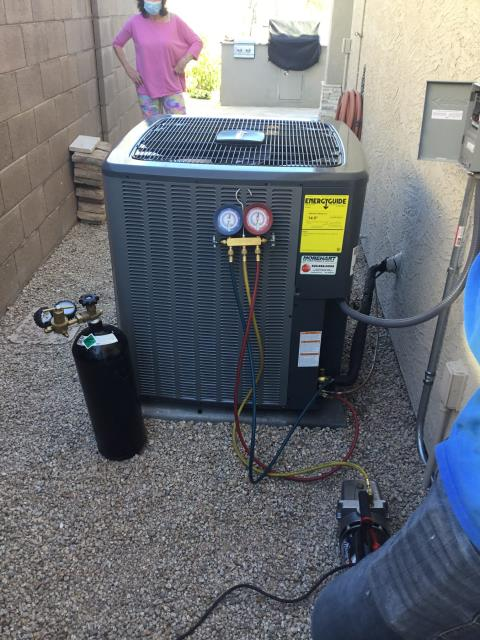 Cave Creek, AZ - In Cave Creek, AZ:  QUALITY INSPECTION-  Completed quality inspection. At time of service, customer was interested in a duct cleaning. Listed an estimate for ducting and dryer vent cleaning. Service complete.