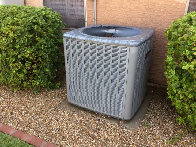 Phoenix, AZ - In Phoenix, AZ:  PREVENTATIVE MAINTENANCE-  Cycled system on into cooling mode. Checked volt and amp draws; all in factory specification. Cleaned and tightened electrical connections. Checked Freon levels and pressures; within factory specification. Acid washed outdoor coil and rinsed. Gave customer a 20X30 filter for next change out. Checked splits: Return 77/Supply 57. System is running properly at this time. Service complete upon departure.