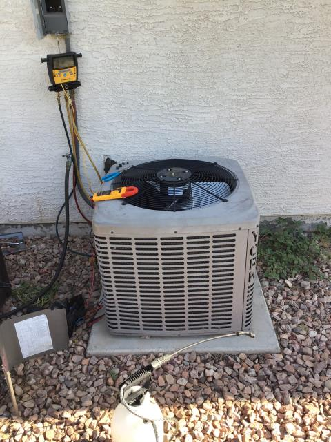 Peoria, AZ - In Peoria, AZ:  PREVENTATIVE MAINTENANCE-  Performed service in accordance with maintenance checklist. System is working properly and within manufacturer specifications upon departure. Service complete.